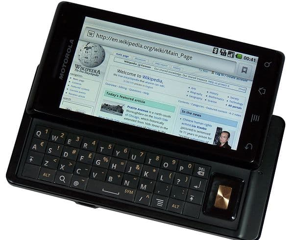 Motorola milestone 摩托罗拉 里程碑