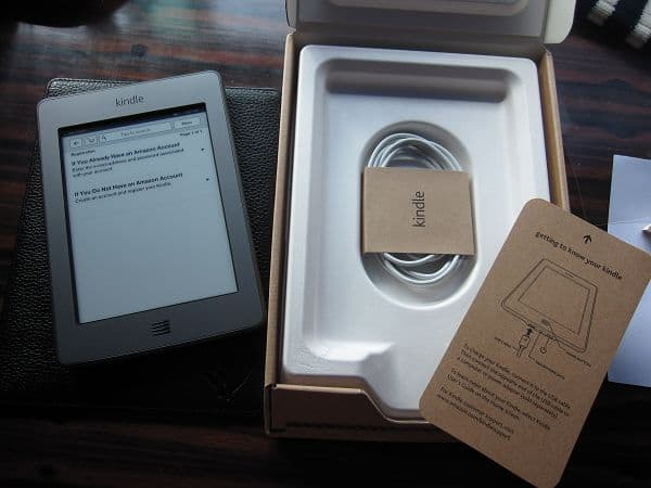 Kindle Touch开箱全家福