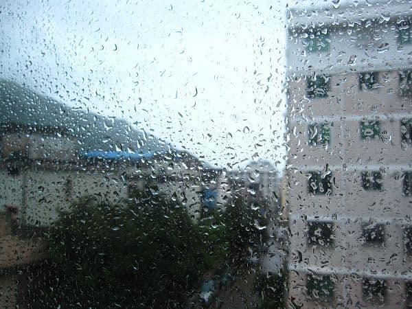 台风肆虐下的台州