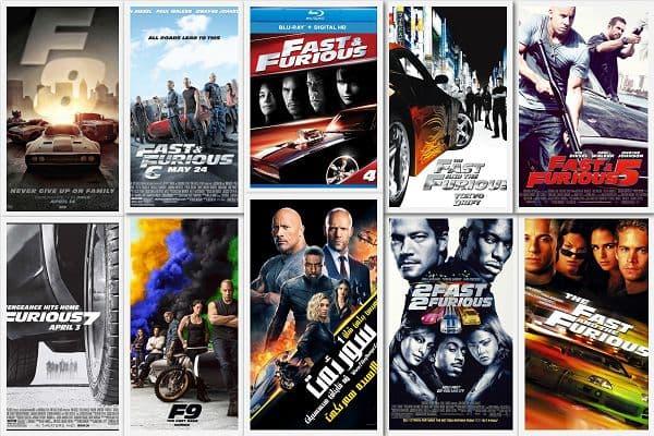 《速度与激情》合集(1-9)及外篇《速度与激情:特别行动》Fast&Furious中英双字幕高清版下载。