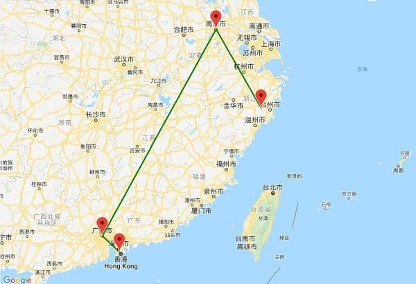 路由追踪地图