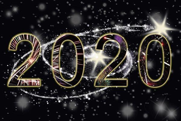Happy New Year 2020 新年快乐