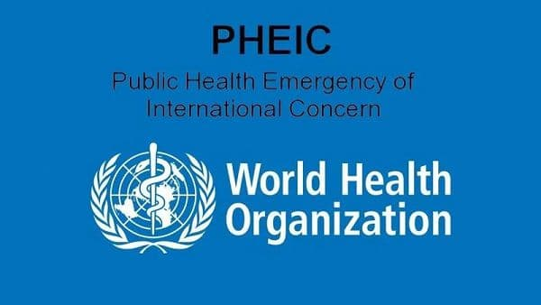 WHO_PHEIC 国际关注的突发公共卫生事件