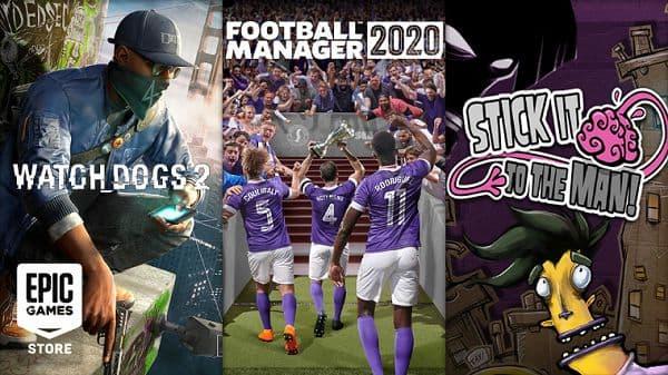 免费领取正版《看门狗2》(Watch Dogs 2)与《足球经理2020》(Football Manager 2020)
