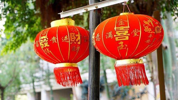 春节 红灯笼